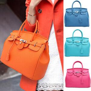 Women Lady Handbag Shoulder Bag PU Leather Messenger Hobo Satchel  Tote Shop Bag