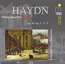 Leipzig String Quartet - Haydn: String Quartets Op. 20 No. 1, 3 & 5 (NEW CD)