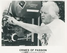 DIRECTOR KEN RUSSELL  CRIMES OF PASSION 1984 VINTAGE PHOTO ORIGINAL