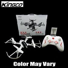 Kingco K66W WiFi FPV 2.4Ghz Gyro 360 Degree HD Camera RC Quadcopter Drone RTF