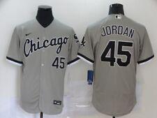Chicago White Sox #45 Michael Jordan Grey Flex Base Jersey