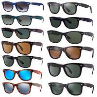 Ray Ban 2140 gafas de sol 901 negros g-15 Wayfarer original RB New 2132 50 nuevo