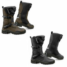 Falco 100% Leather All Motorcycle Boots