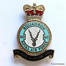 RAF 60 Squadron - Enamel Brooch Badge - Royal Air Force Helicopter Flying School