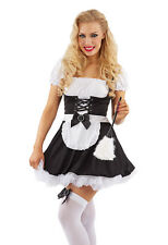 French Maid Deluxe Peasant Style Female Fancy Dress Costume - XL (UK 18-20)