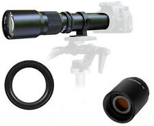 500mm/1000mm Telephoto Lens for Canon Digital Rebel T3I T2i T4i 600D 550D 500D