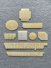 NEW 9 x Wethepeople BMX Stickers White Frame Sticker Decals WTP We The People