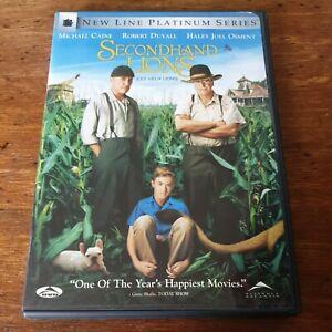 Secondhand Lions DVD (Region 1 USA CANADA)