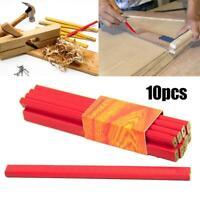 10PCS Flat carpenter pencils package of woodworking tool pencil construction