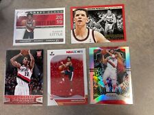 Nassir Little Rookie cards. Portland Trailblazers 5 card lot. Evan Turner Silver