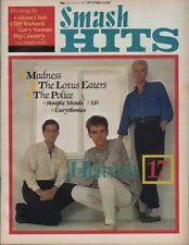 Heaven 17 on Smash Hits Magazine Cover 1983   Madness   Gary Numan  Robert Plant