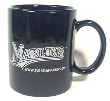 Florida Marlins Coffee Mug 10 fl oz 1 877 MARLINS Baseball Cup Black