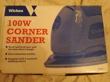 WICKS 100W CORNER SANDER WITH INSTRUCTIONS
