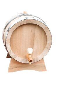 Neu Eiche Fass 50L,Whiskey Fässer,Wein Fässer,Massivholz Fass,Apfelwein,Bier,Rum