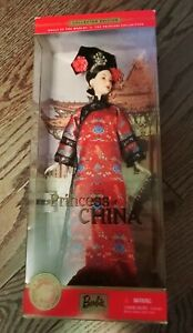 Princess Of China Barbie Doll of the World The Princess Collection Edition NEW