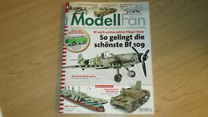 MODELLFAN 4/2021 - Bf 109 K-4/RMS PLYMPIA/ITALO-STuGM911/BOEING E-7A - APRIL-TOP