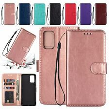 For Samsung Galaxy Note 20 Ultra 10 Plus S10e S9 S8 S7 Leather Wallet Case Cover