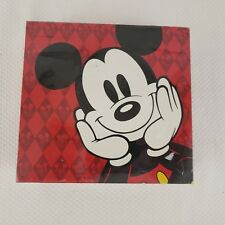Vintage The Disney Store Mickey Mouse Note Card Boxed Set Red Yellow