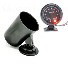 52mm Gauge Pod Black Swivel Dash Meter Pillar Mount Cup Dashboard Guage Holder