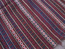 1890-1900 ANTIQUE  TURKOMAN JAJIM BED COVER VERY FINE ITEM GREAT COLORS  EXCELLE