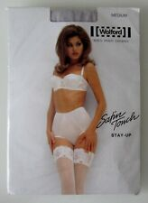 NEU & OVP: Wolford SATIN TOUCH STAY - UP ! Gr. M! Farbe: Grau (Trianon)!