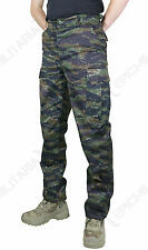 Combat BDU TROUSERS - TIGER STRIPE CAMO - All Sizes US Army Military Cargo Pants