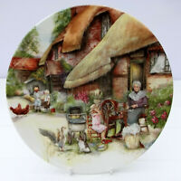 Royal Doulton Bone China Old Country Collector's Crafts Plate Spinner