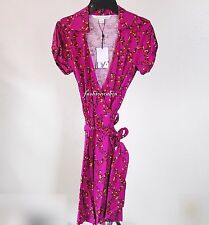 63% OFF~NWT Diane von Furstenberg~DVF Jilda 2 Jersey Silk Blend Wrap Dress~ sz10
