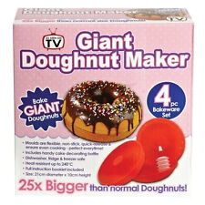 Giant Doughnut Maker Silicone Cake Bake Mold Set Kitchen Tool