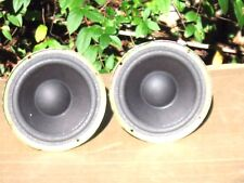 Pair Of 4 ohm  alwa 6 5/8''  Woofers used in a Two Way  sub system IN Good Con!