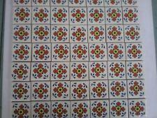 MEXICAN TALAVERA TILES x 50 ( 5cm x 5cm each )