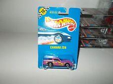 1991 Hot Wheels #33 CAMARO Z28 (Purple) Blackwalls
