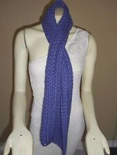 The North Face Ladies Purple Cable Knit Scarf