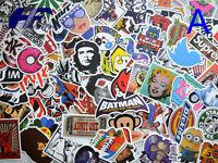 100 Skateboard Laptop Luggage Graffiti bomb Vinyl Decals Dope Car Sticker Mix