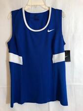 NIKE - WOMEN'S TEAM POWER TENNIS TANK - SIZE M - 598573 - BLUE - NWT