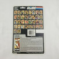 GI JOE ARAH Lifeline 1986 Full File Card Cardback