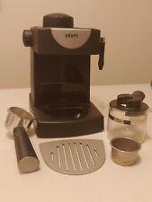 Krups FND1 Espresso Coffee Maker Machine Black 4 Cups Tested!