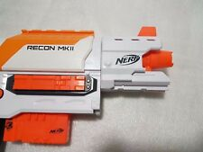 WHITE BARREL ATTACHMENT TACTICAL MODULUS dart gun war NERF Barrel elite upgrade