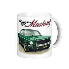 1967 Ford Mustang Bullitt Fastback Steve McQueen Quality 11oz. Mug