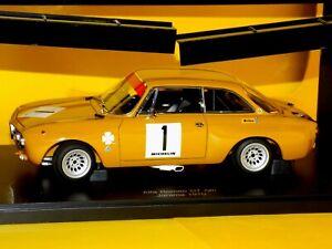 Alfa Romeo GIULIA GT AM #1 JARAMA 1970 HEZEMANS AUTOART 87003 1/18