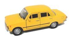 Spedizione LAMPO FIAT 125 P GIALLO/YELLOW Welly Modello Auto 1:34 NUOVO & OVP 2