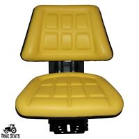 YELLOW JOHN DEERE 5200 5210 5300 5310 TRIBACK STYLE TRACTOR SUSPENSION SEAT