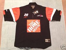 VINTAGE NASCAR 2003 TONY STEWART HOME DEPOT RACING PIT CREW SHIRT med NWT CHASE