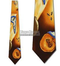 Time Warp Krawatten Salvador Dali Krawatte Herren Kunst Nackenträger BRANDNEU