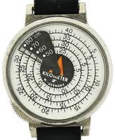 extrem seltener Entfernungsmesser Armbanduhr für Karten