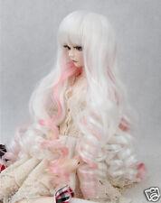 "New Wigs BJD Doll  Wig 5-6"" 1/6 SD DZ LUTS curls Wig Hair Womens Toys Hot"