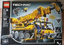 Lego Technic 8421 Mobile Crane - Pneumatics - Motorized - Brand New Sealed
