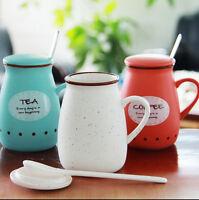 Lovely Cute Pottery Ceramic Cup Cute Water Mug Cup Tea Coffee Milk Cup