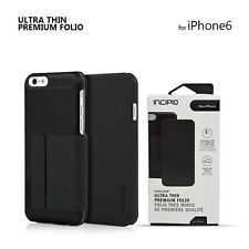 Authentic Incipio Highland Ultra Thin Folio Card Wallet Case For iPhone 6 6s