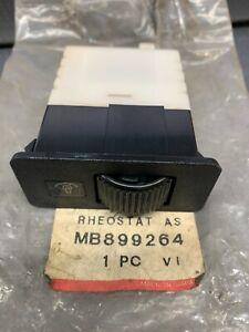 1994-1996 Mitsubishi Mirage Instrument Light Rheostat MD899264 OEM NOS Part